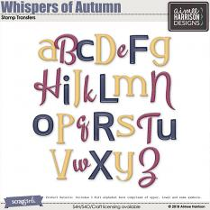 Whispers of Autumn Alphas