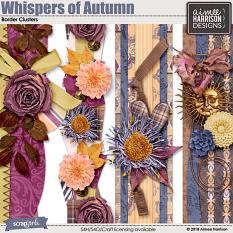 Whispers of Autumn Borders