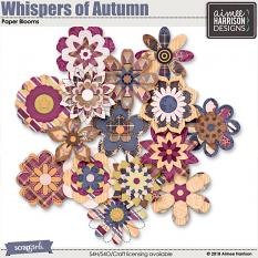 Whispers of Autumn Blooms