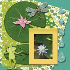 Layout By Nancy using Ribbit Ribbit Collection By Charly Renay