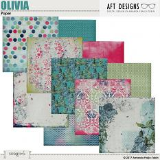 Value Pack: Olivia AFT Designs - Amanda Fraijo-Tobin @ScrapGirls.com