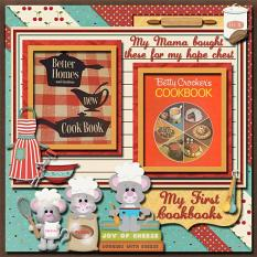 Layout By Linda Rae using Whats Cooking Collection By Charly Renay