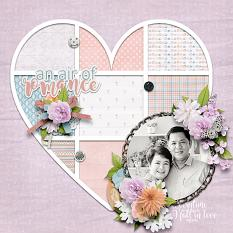 An Air of Romance Layout