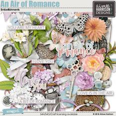 An Air of Romance Embellishments