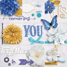 Our Memories Embellishment Closeup