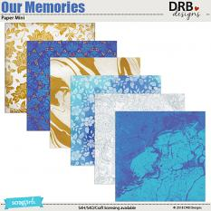 Our Memories Paper Mini by DRB Designs | ScrapGirls.com