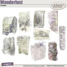 Wanderlust Transfers by On A Whimsical Adventure
