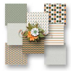 Army Patterned Papers details