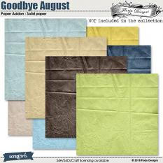 Value Pack : Goodbye August by Florju designs