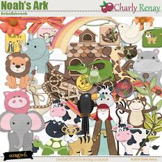 Noahs Ark Embellishments By Charly Renay
