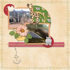 Layout using Noahs Ark Collection By Charly Renay