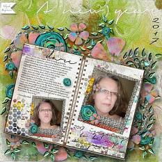 Layout  by Elysah using Follow from Amanda's Digital Studio
