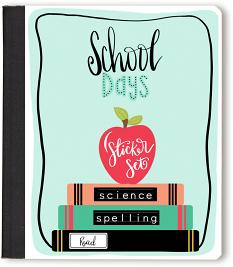 School Days digital stickers for GoodNotes Sticker Book