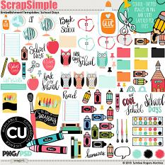 School Days Illustrations and Templates