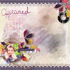 layout using September 2018 Addon Papers by Florju designs