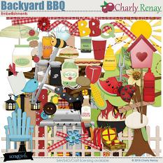 Backyard BBQ Embellishments By Charly Renay