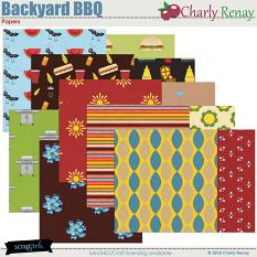 Backyard BBQ Patterned Papers By Charly Renay