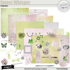 Sweet whisper quickpage details