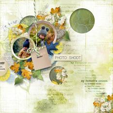 layout using Value Pack : Goodbye August by Florju designs