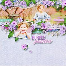 Layout using ScrapSimple Digital Layout Templates:Happy Day