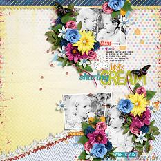 Sweet Summer Treats Layout