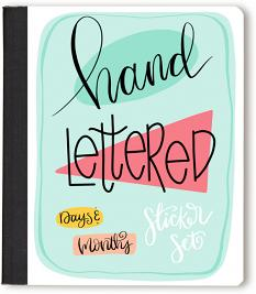 Hand-Lettered Days and Months Digital Stickers for GoodNotes