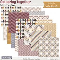 Gathering Together Patterned Paper Biggie