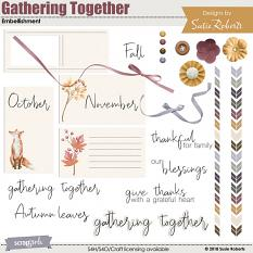 Gathering Together Embellishment