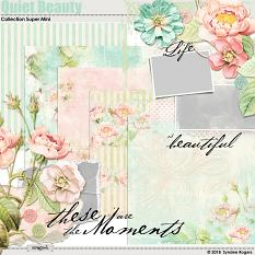 Quiet Beauty Digital Scrapbook kit