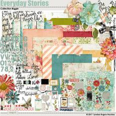 Everyday Stories digital scrapbook kit