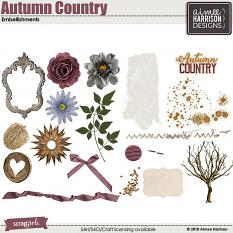 Country Autumn Elements