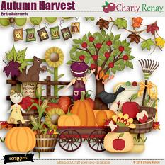 Autumn Harvest Embellishments By Charly Renay