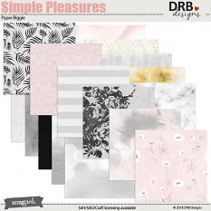Simple Pleasures Paper Biggie by DRB Designs | ScrapGirls.com