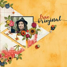 Layout using ScrapSimple Digital Layout Templates:Small Sweet