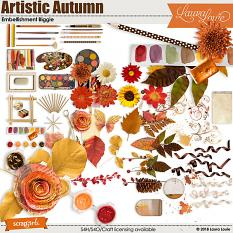 Artistic Autumn Embellishment Biggie