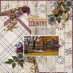 Country Autumn Layout