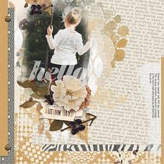 Fall Layout by Brandy Murry