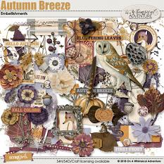 Autumn Breeze Embellishments by On A Whimsical Adventure