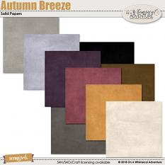 Autumn Breeze Solid Papers by On A Whimsical Adventure