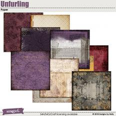 Unfurling Papers by Designs by Helly