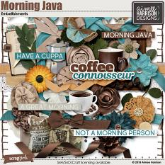 Morning Java Embellishments