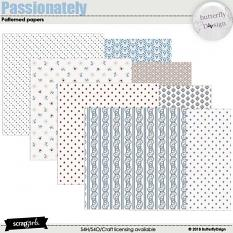 Passionately Patterned Papers