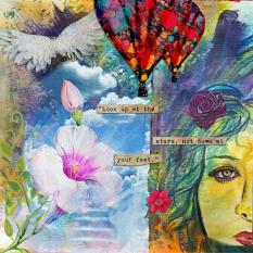 Layout by Lou Smith using Ascend by Amanda's Digital Studio