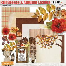 Fall Breeze & Autumn Leaves Collection Mini by DRB Designs | ScrapGirls.com