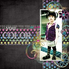 Digital scrapbooking layout by Armi Custodio (See supply list with links below)