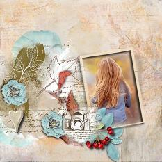 layout using Value Pack : Autumn Haze by Florju Designs