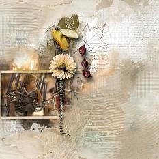 layout usingAutumn Haze Collection Biggie by Florju Designs