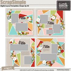 Shape Up #2 Template Set