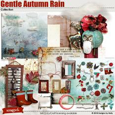 Gentle Autumn Rain by Designs by Helly