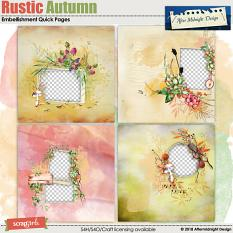 Rustic Autumn Quick Pages by Aftermidnight  Design
